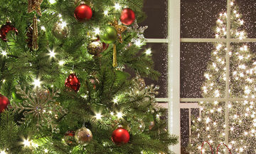 Εντυπωσιάστε με το χριστουγεννιάτικο δέντρο σας - Πώς να τo στολίσετε βήμα- βήμα (vid)