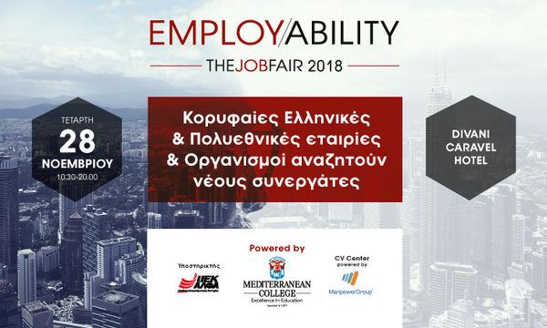 Employability Fair 2018 powered by Mediterranean College