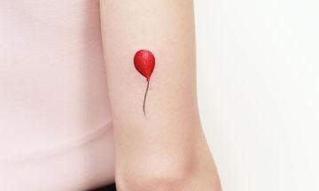 Όμορφες και ρομαντικές ιδέες για το πρώτο σας τατουάζ (pics+vid)