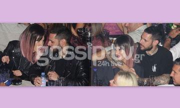 Η Τάμτα με ροζ μαλλί στην αγκαλιά του Πάρι Κασιδόκωστα!
