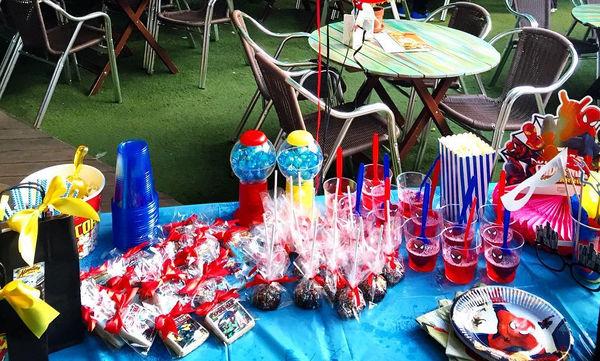 Παιδικό πάρτι με θέμα τον Spiderman (pics)