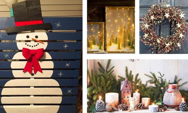 Χριστουγεννιάτικη διακόσμηση: Φτιάξτε τα δικά σας στολίδια και εντυπωσιάστε (vid)