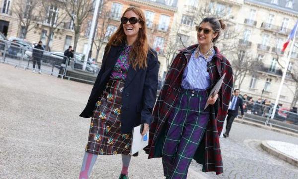 Street Style: H πιο ρετρό τάση επιστρέφει από τα παλιά