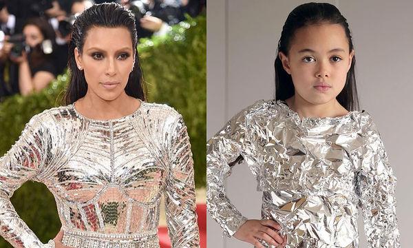 Εννιάχρονη μιμείται με το δικό της τρόπο τις εμφανίσεις διάσημων γυναικών (pics)