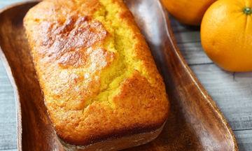 Αφράτο κέικ πορτοκαλιού χωρίς μίξερ (vid)
