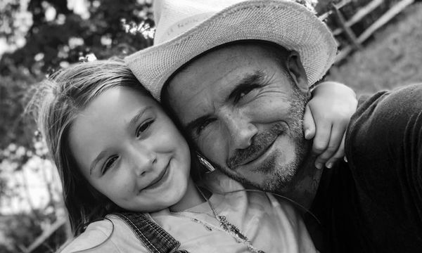Η ωραιότερη χριστουγεννιάτικη φωτογραφία του David Beckham με την κόρη του είναι αυτή (pic)