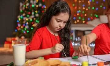 Εύκολες χριστουγεννιάτικες κάρτες για να φτιάξεις μαζί με τα παιδιά σου (pics+vid)