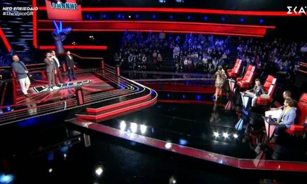 The Voice: Η Παπαρίζου έφυγε τρέχοντας από το πλατό- Τι ζήτησε ο Καπουτζίδης από την παραγωγή;