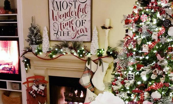 Αυτές οι ιδέες διακόσμησης για χριστουγεννιάτικο δέντρο θα σας εντυπωσιάσουν (pics)
