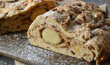 Stollen: Συνταγή για να φτιάξετε το απόλυτο Χριστουγεννιάτικο γλυκάκι