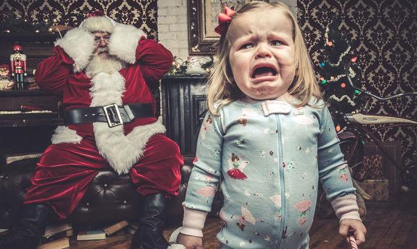 Τα σωστά tips για να βγάλουν τα παιδιά σου την καλύτερη φωτογραφία με τον Άη Βασίλη (pics)