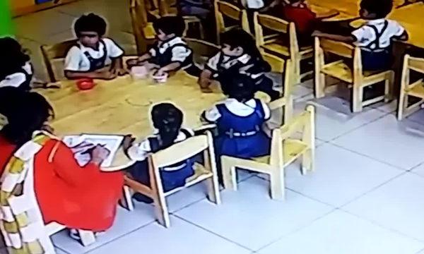 Ασύλληπτο! Δείτε τι έκανε αυτή η δασκάλα στους μικρούς μαθητές της για να μην μιλάνε (vid)