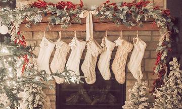 Φτιάξτε εντυπωσιακές χριστουγεννιάτικες κάλτσες για τα δώρα ή τη διακόσμηση του σπιτιού (vid + pics)
