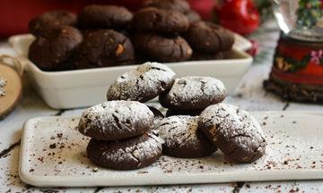 Συνταγή για πεντανόστιμους σοκολατένιους κουραμπιέδες