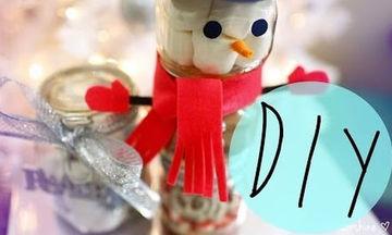 Φτιάξτε Χριστουγεννιάτικα δώρα με… βαζάκια! (vid)