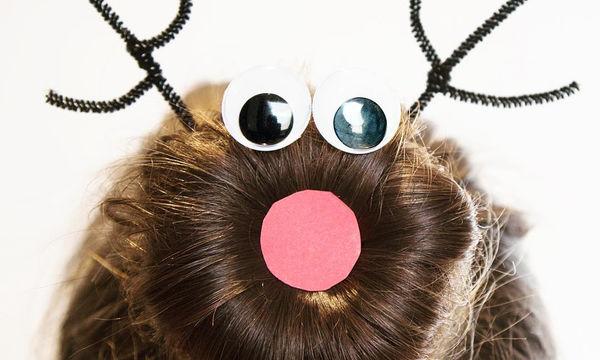 Υπέροχα χριστουγεννιάτικα χτενίσματα για κορίτσια (pics)