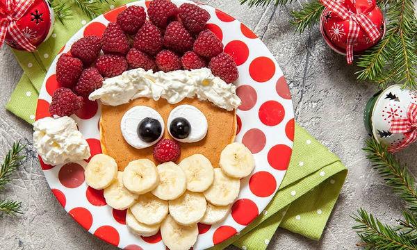 Εμπνευστείτε από τα Χριστούγεννα και κάντε τα παιδιά σας να φάνε φρούτα και λαχανικά (pics)