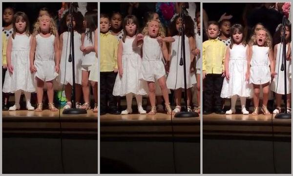 Απίστευτη ερμηνεία και σκηνική παρουσία από αυτή την 4χρονη! Δείτε τι κάνει (vid)