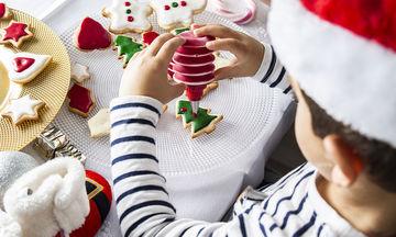 Φτιάξτε μαζί με τα παιδιά μπισκότα βουτύρου