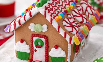 Συνταγή για Gingerbread Houses – Τα πιο γλυκά σπιτάκια των Χριστουγέννων! (pics)