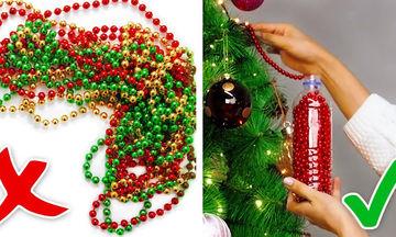 Δέκα έξυπνες χριστουγεννιάτικες ιδέες που θα σας λύσουν τα χέρια (vid)