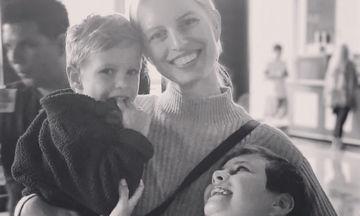 Karolina Kurkova: Ευτυχισμένες στιγμές με τους γιους της. Δείτε φωτογραφίες  (pics)