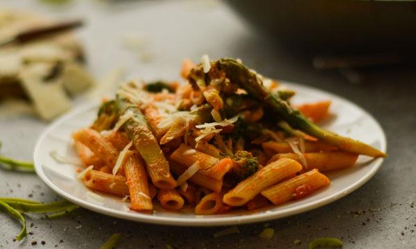 Νοστιμότατες πένες με λαχανικά