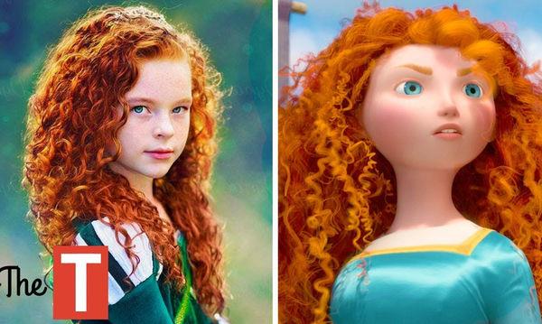 Αυτά τα παιδιά μοιάζουν εκπληκτικά με ήρωες της Disney (vid)