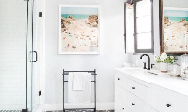 10 φανταστικές ιδέες για να διακοσμήσεις το μπάνιο σου εύκολα και οικονομικά