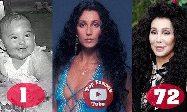 Cher: Η μεταμόρφωση της διάσημης τραγουδίστριας από τη γέννησή της μέχρι σήμερα (vid)