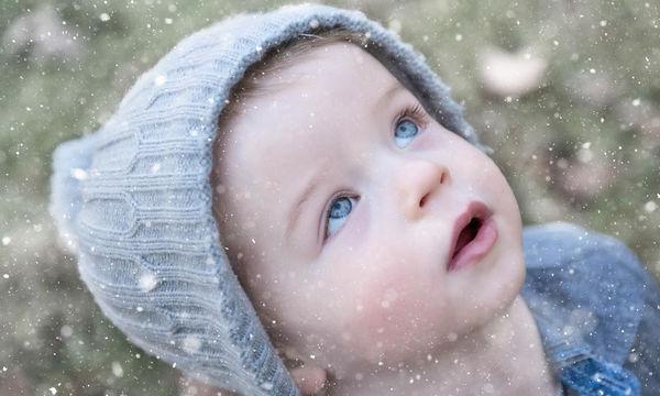 Παιδιά απολαμβάνουν το χιόνι παίζοντας - 18 απίθανες φωτογραφίες (pics)