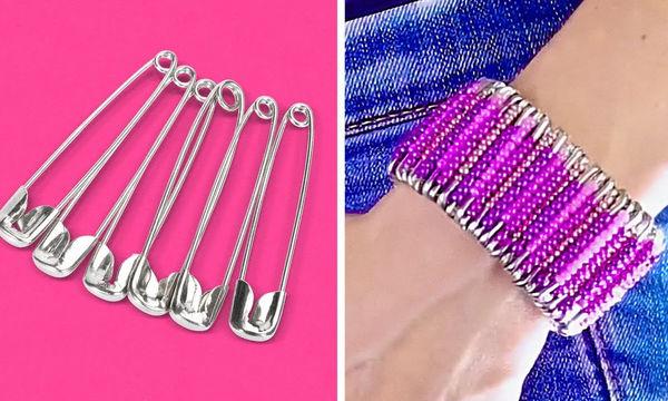 DIY: Δεκαεννιά ιδέες για κοσμήματα που μπορείτε να φτιάξετε μόνοι σας (vid)