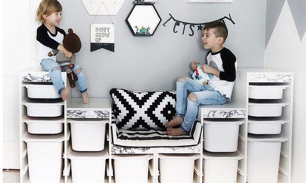 Πώς να βάλετε τάξη στο δωμάτιο του παιδιού σας; Σας έχουμε ιδέες (pics)
