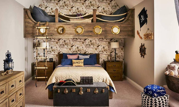Παιδικά κρεβάτια κουκέτες: Φανταστικές ιδέες για το παιδικό δωμάτιο (vid + pics)