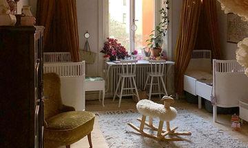 Vintage ιδέες διακόσμησης για το παιδικό δωμάτιο (pics)