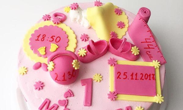 Ιδέες για να διακοσμήσετε την τούρτα των πρώτων γενεθλίων του μωρού σας! (pics)