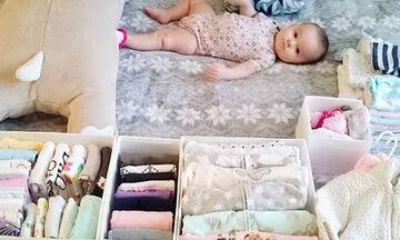 Αυτή η μαμά βρήκε τον τέλειο τρόπο για να οργανώσει την παιδική ντουλάπα! (pics)