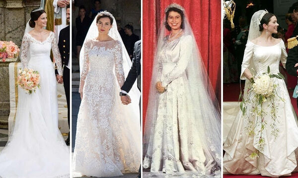 Βασιλικοί γάμοι: Αυτές οι νύφες εντυπωσίασαν με την εμφάνισή τους (vid)