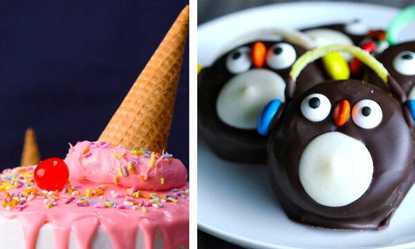 'Εξι απλοί και όμορφοι τρόποι να διακοσμήσετε τα γλυκά και τις τούρτες (vid)
