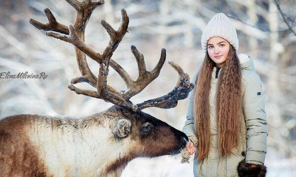 Μοναδικές φωτογραφίες παιδιών με ζώα του δάσους (pics)