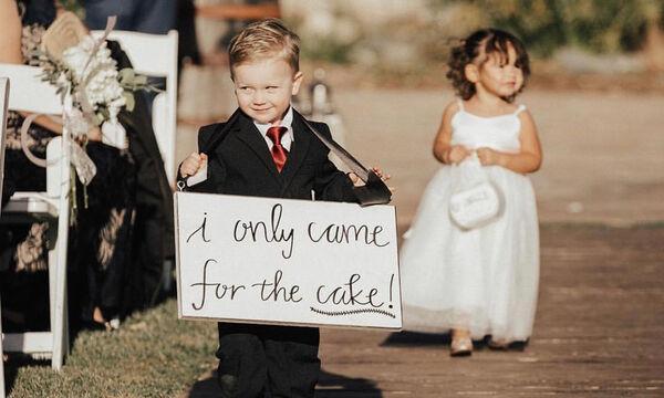 Αυτά τα παρανυφάκια έκλεψαν τις εντυπώσεις! Πάρτε ιδέες για έναν τέλειο γάμο! (pics&vid)