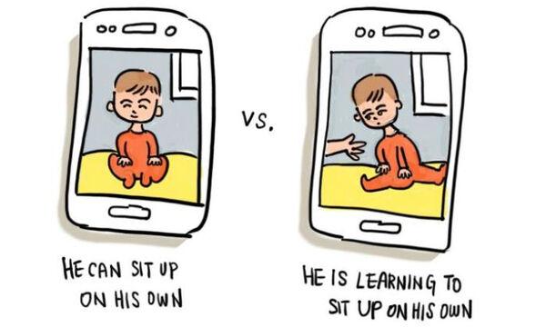 Μαμά μετατρέπει σε σκίτσα τις αστείες στιγμές με τα δυο της παιδιά και είναι απολαυστικά (pics)