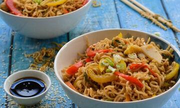 Συνταγή για νόστιμα σπιτικά noodles