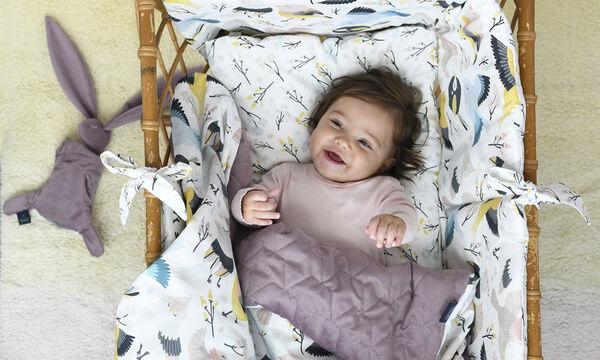 Αυτό το παπλωματάκι είναι ιδανικό δώρο για νεογέννητα