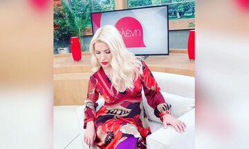 Ελένη Μενεγάκη: Κι όμως, μόνο 8 φορές έχει φορέσει αυτό το χρώμα στην εκπομπή της (pics)