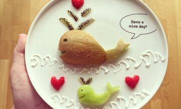 Food Art: Πολύχρωμα και διασκεδαστικά πιάτα για παιδιά (pics)