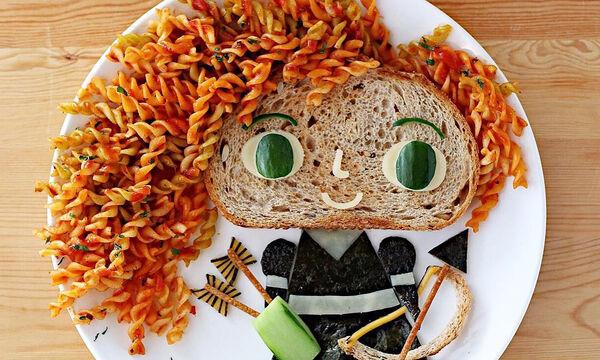 Οι αγαπημένοι ήρωες των παιδιών στο πιάτο τους! (pics)