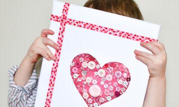 'Αγιος Βαλεντίνος: Χαρίστε στους αγαπημένους σας κάρτες που έχουν φτιάξει τα παιδιά σας (vid +pics)