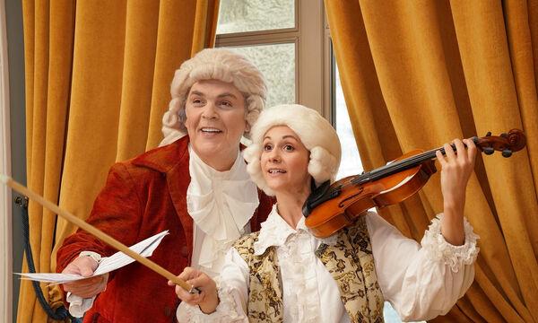 «Ο μικρός Amadeus - Το παιδί θαύμα» στο Ολύμπια Δημοτικό Μουσικό Θέατρο Μαρία Κάλλας