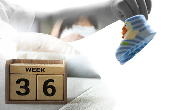 Τι συμβαίνει στην 36η εβδομάδα εγκυμοσύνης; (vid)
